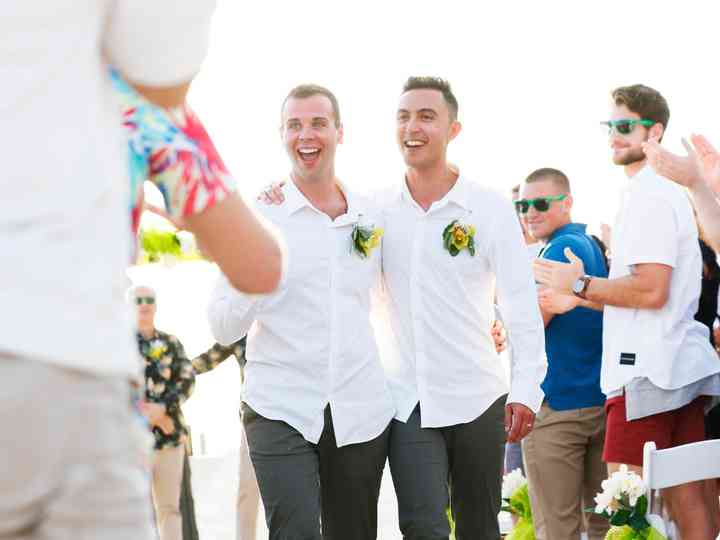 The wedding of Max and Mike