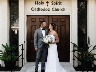 The wedding of Kelli and Christos