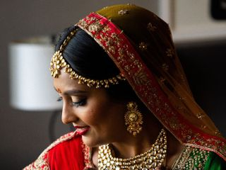 The wedding of Yesha and Vishal 1