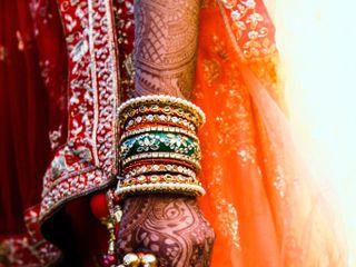 The wedding of Yesha and Vishal 3
