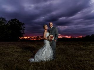 The wedding of Brittani and Clay Taylor