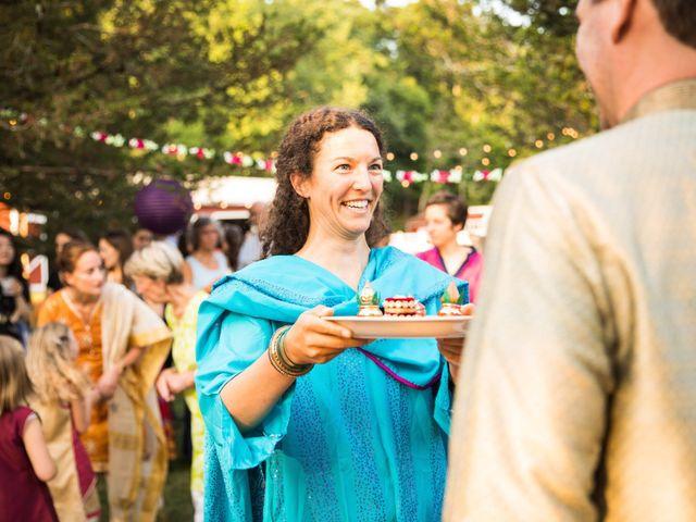 Antoine and Sharanya's Wedding in Catskill, New York 9