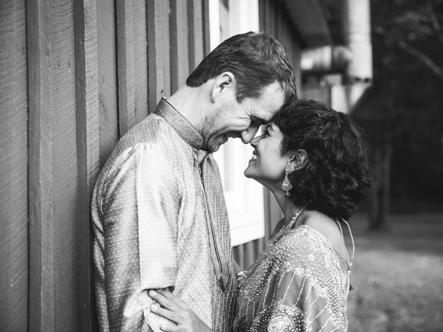Antoine and Sharanya's Wedding in Catskill, New York 11