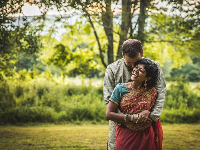 Antoine and Sharanya's Wedding in Catskill, New York 12