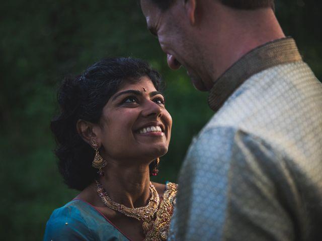 Antoine and Sharanya's Wedding in Catskill, New York 13