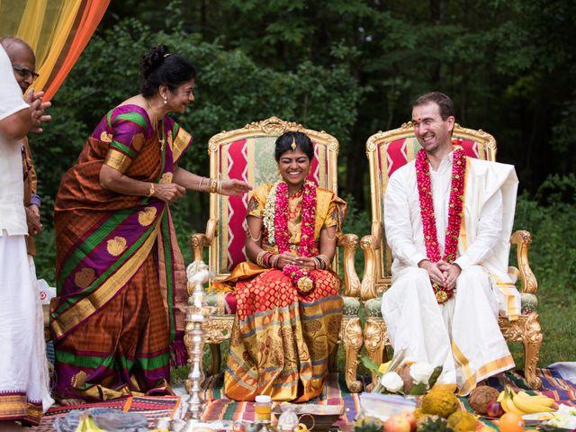 Antoine and Sharanya's Wedding in Catskill, New York 19