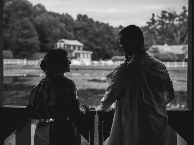 Antoine and Sharanya's Wedding in Catskill, New York 21