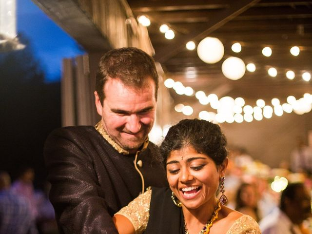 Antoine and Sharanya's Wedding in Catskill, New York 26