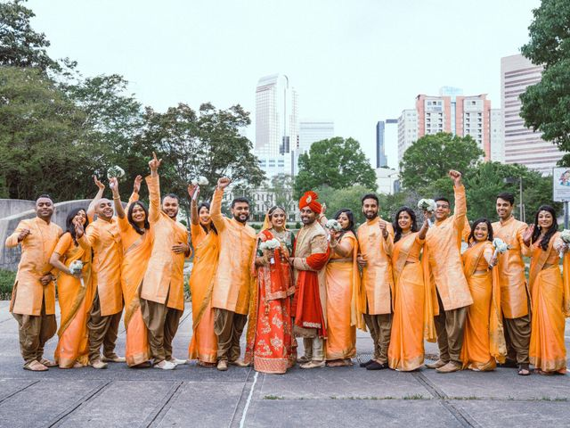 Vishal and Yesha's Wedding in Charlotte, North Carolina 7