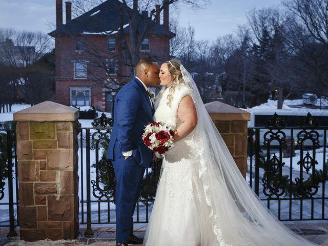 The wedding of Alyssa and Hunter