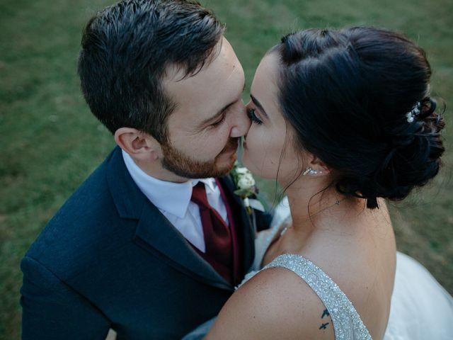 The wedding of Toria and Adam