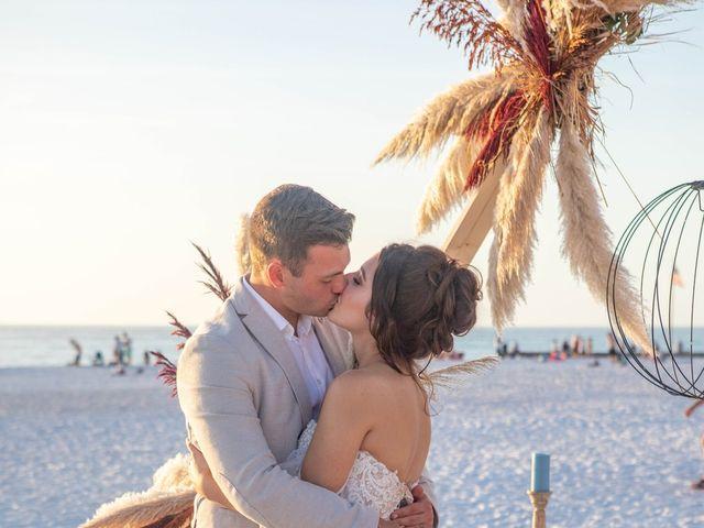 Jake and Emma's Wedding in Siesta Key, Florida 10