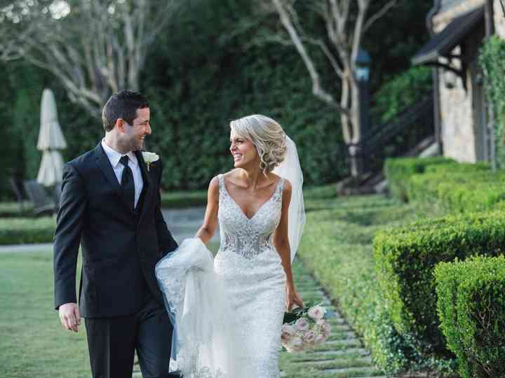 The wedding of Hayley and Rusty