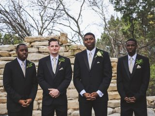 Quinecy and Whitney's Wedding in Austin, Texas 5