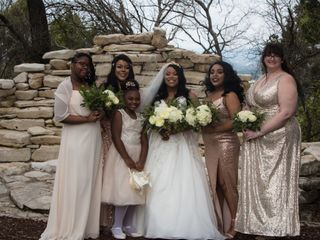 Quinecy and Whitney's Wedding in Austin, Texas 7