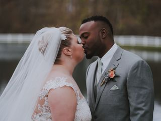 The wedding of Briana and Isaiah