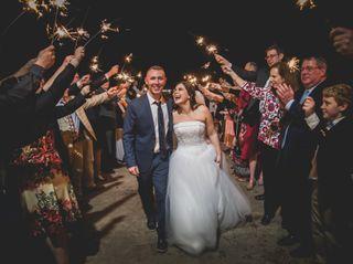 The wedding of Chris and Lauren 1