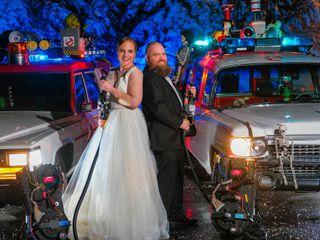 The wedding of Rachel and Chris