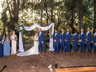 The wedding of Rebecca and Nick 1