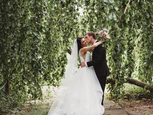 The wedding of Melissa and Ken