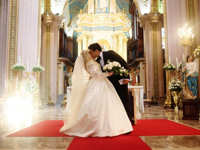 The wedding of Erika  and Gustavo