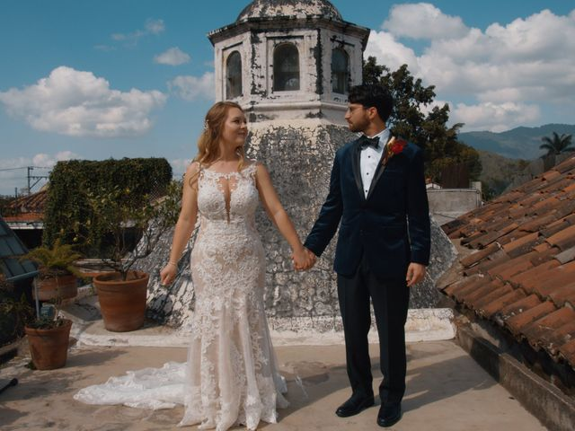 The wedding of Olivia and Jensel