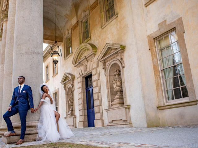 The wedding of Shacori and Brandon