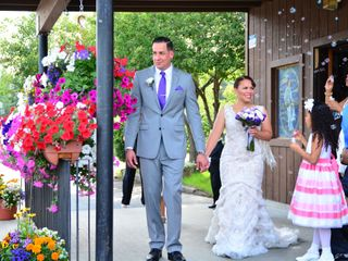 The wedding of Keyla and Ernesto