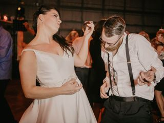 The wedding of Raley Blackburn and Brady Blackburn 1