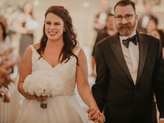 The wedding of Raley Blackburn and Brady Blackburn