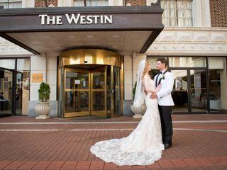 The wedding of Christiana and Josh