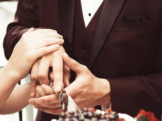 The wedding of Melanie and John 1