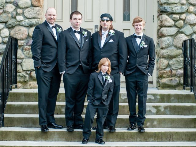 Michael and Elizabeth's Wedding in Wrentham, Massachusetts 5