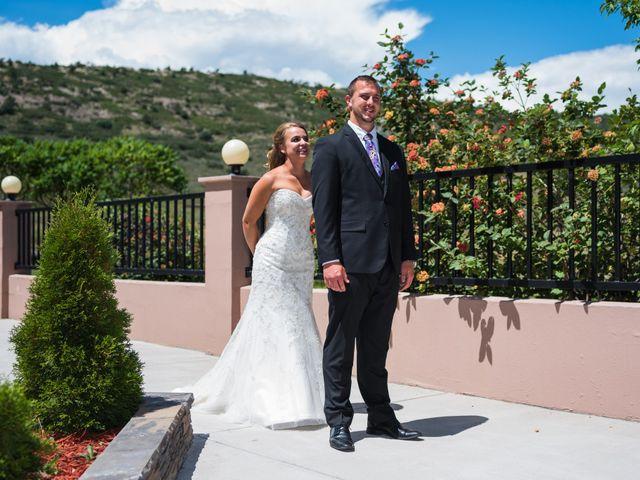 Brett and Kyra's Wedding in Golden, Colorado 7