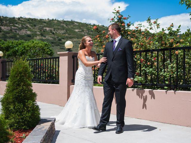 Brett and Kyra's Wedding in Golden, Colorado 8