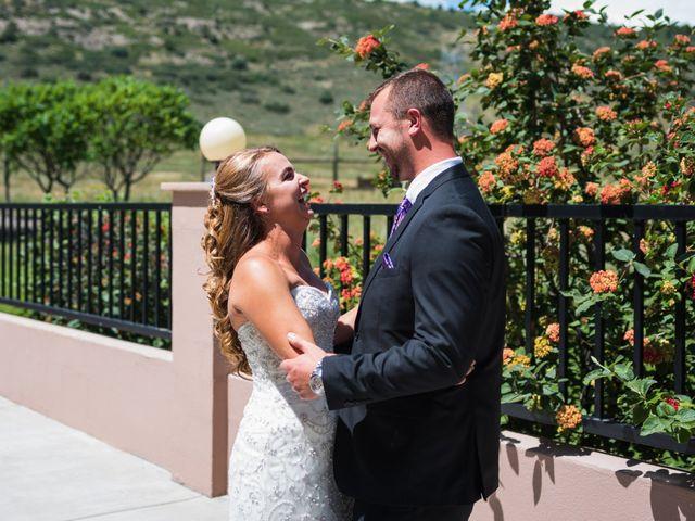 Brett and Kyra's Wedding in Golden, Colorado 9