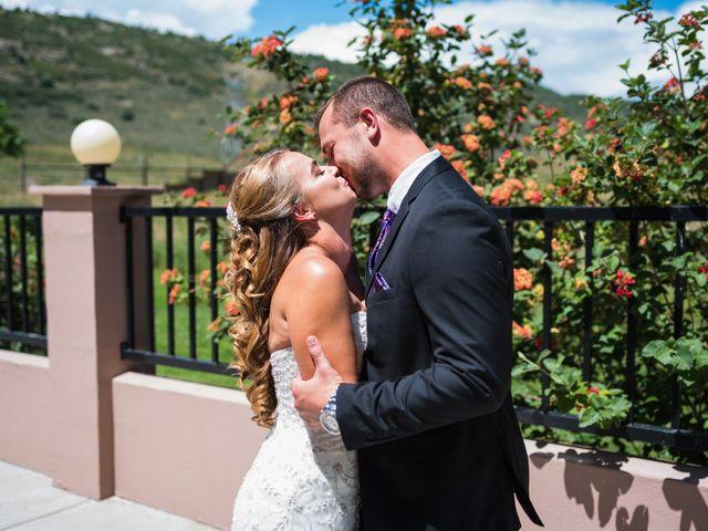 Brett and Kyra's Wedding in Golden, Colorado 10