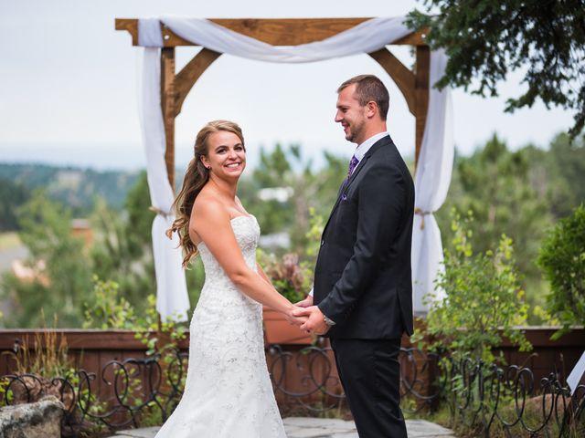 The wedding of Kyra and Brett