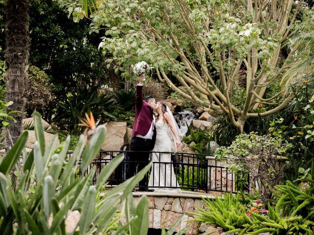 The wedding of Cassandra and Anthony