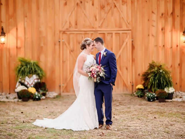 The wedding of Paige and Matthew