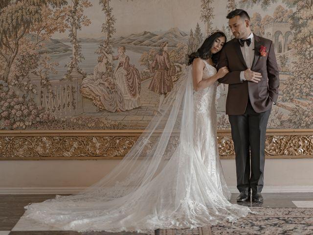 The wedding of Juan and Cristina