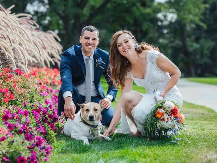The wedding of Melissa and Antonio