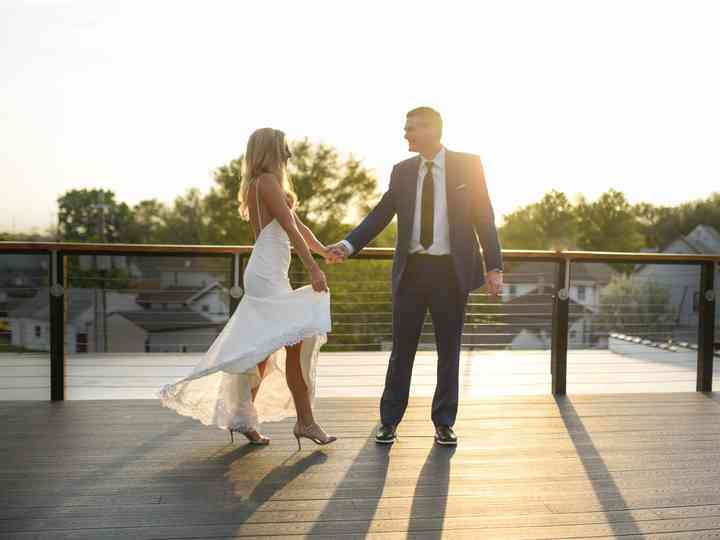 The wedding of Ryan and Lindsay