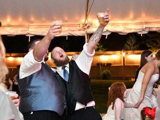 The wedding of Lauren and Tony 1