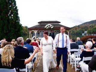 Mitchell and Allison's Wedding in Lake Lure, North Carolina 3