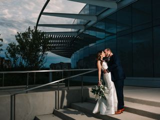 The wedding of Christina and Robert