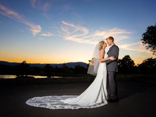 The wedding of Maddi and Charlie