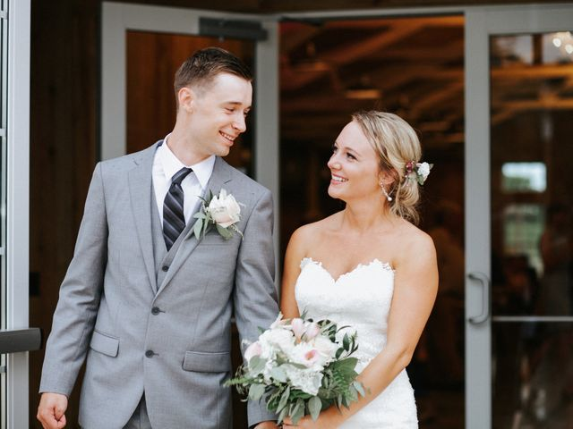 The wedding of Kylie Baumann and Logan Baumann