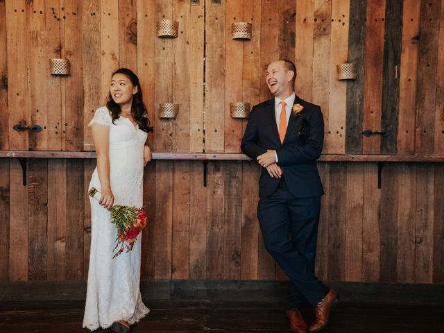 The wedding of Jenny and Brian