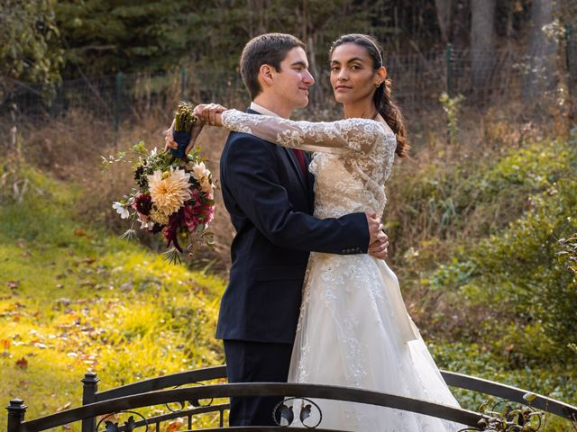 The wedding of Alex and Tiffany
